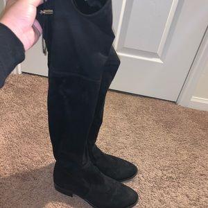 Sam Edelman thigh high black boots